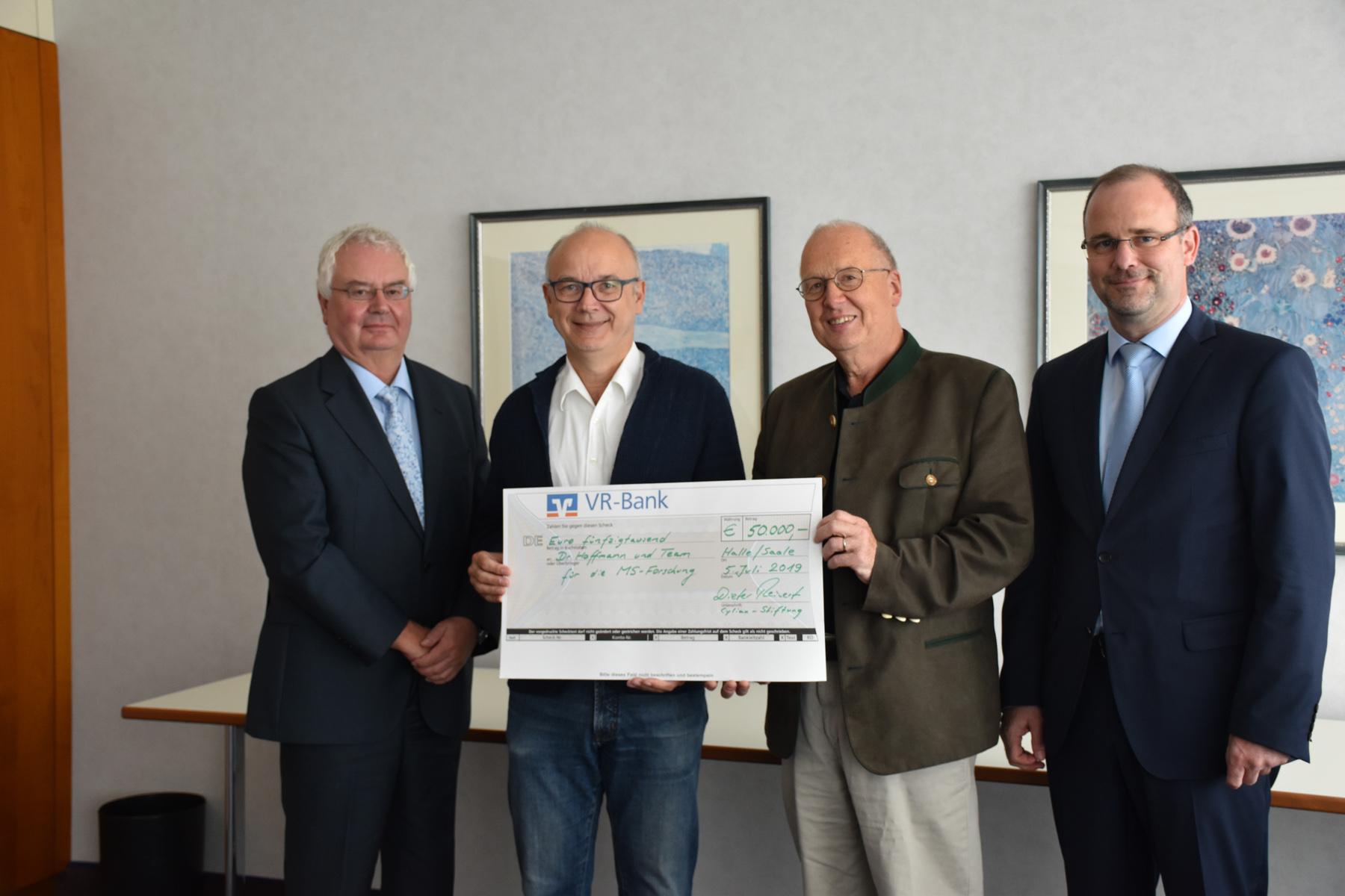 Stiftung verlängert Förderung für MS- Forschungsprojekt in Martha-Maria Halle-Dölau